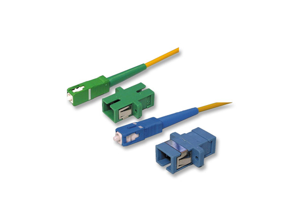fiber optic adapter sc pc sc pc low insertion loss high stability and